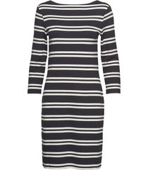 d1. striped dress jurk knielengte multi/patroon gant
