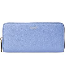 margaux grained leather continental wallet