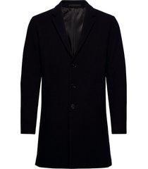 jjemoulder wool coat sts wollen jas lange jas zwart jack & j s
