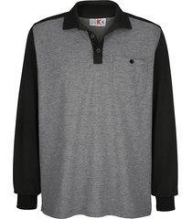 tröja roger kent svart::grå