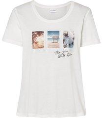 maglia stampata (bianco) - bodyflirt