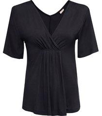 maglia scollata (nero) - bodyflirt boutique