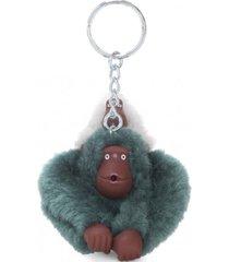 llavero monkeyclip gris kipling