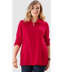 sweatshirt m. collection rood