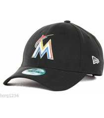 florida marlins - new era 9 forty  adjustable baseball cap/hat -  osfm