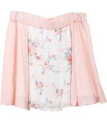 falda stephanie rosa mapamondo