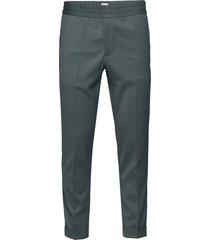 m. terry gabardine pants kostuumbroek formele broek groen filippa k