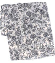 echo 23 valencia bi-color floral wrap scarf