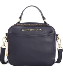 tommy hilfiger hazel top handle satchel, created for macy's