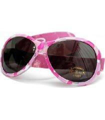 banz retro toddler girls wrap around sunglasses