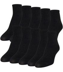 gold toe women's lightweight 10pk ankle socks