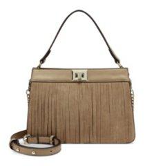 inc pixiee fringe satchel, created for macy's