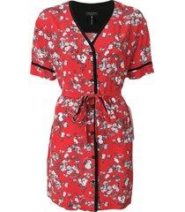 rag & bone zac dress - red
