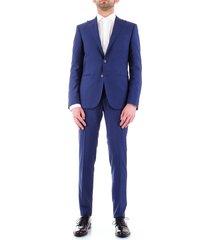 corneliani 837z25-9164135 dress men blue