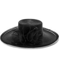 bellissima millinery collection braid wide-brim dressy hat