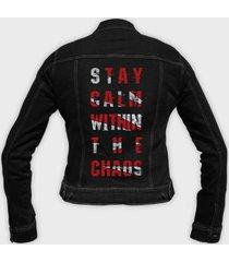 kurtka jeansowa damska stay calm