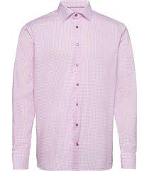 contemporary fit blue lightweight twill shirt skjorta business rosa eton