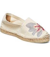 alexandrina espadrilles sandaletter expadrilles låga beige by malina