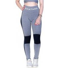 legging shatark ready - cinza