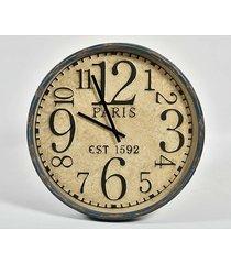 zegar okrągły ścienny retro