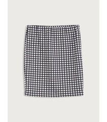 falda entallada diseño estampado para mujer freedom 01819