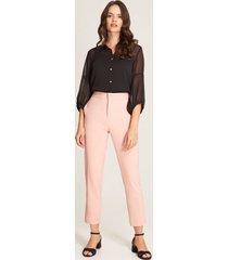 pantalón recto rosado 4