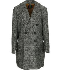 blazer ps by paul smith manteau à double boutonnage tweed