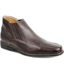 aa907ed32 bota chelsea para pés largos masculina sandro moscoloni jingle marrom