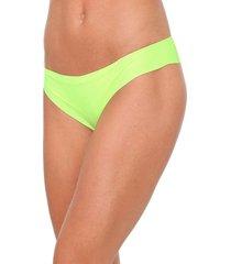 calcinha liz tanga neon verde - verde - feminino - poliamida - dafiti