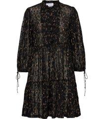 kiely dress knälång klänning svart designers, remix