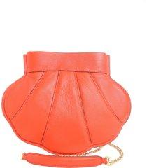 boutique moschino shell crossbody bag