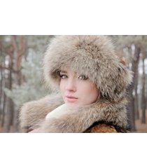 real raccoon fur headband/fur headband/bandeau de fourrure raton laveur/fourrure
