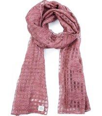 pañuelo cuadrille rosa humana