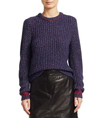 cheryl rib-knit sweater