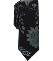inc men's morrill floral slim tie, created for macy's