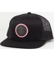 rip curl men's go to trucker hat