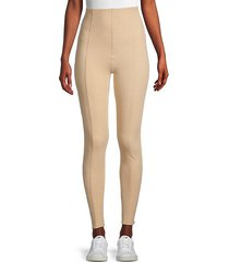 high-waist paneled leggings
