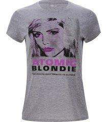 camiseta atomic color gris, talla s