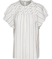 ellington blouses short-sleeved vit munthe
