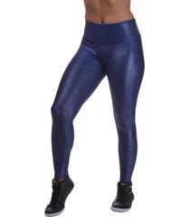 legging miss blessed skinny cirrê azul escuro