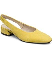 joyce shoes heels pumps sling backs gul vagabond