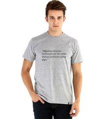 camiseta ouroboros manga curta viva masculina
