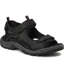 offroad shoes summer shoes sandals svart ecco