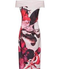 abito con spalle scoperte (rosa) - bodyflirt boutique