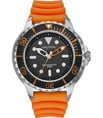 reloj casual naranjo nautica