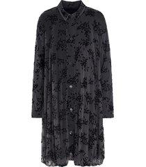 drape coat dress