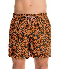 traje de baño naranja-azul maaji swimwear welcometo hawaii