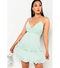 akira spring is coming chiffon mini dress