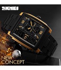 skmei 1274 reloj para hombre-dorado