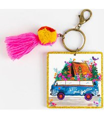 natural life let's just go key chain - multi